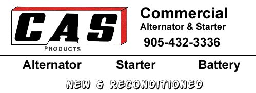 Commercial Alterator & Starter